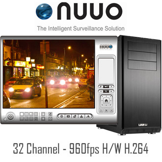 32ch NUUO PC DVR System h.264
