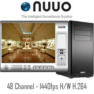 NUUO 48ch PC DVR Systems