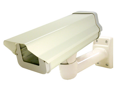 Outdoor Ready Security Camera Housing with Cable Management Mount