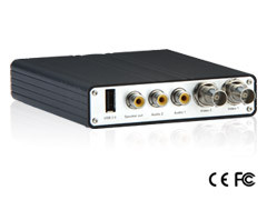 Geovision GV-VS12 2 Channel Video Server with H.264 Compression, Audio and USB accessory port.