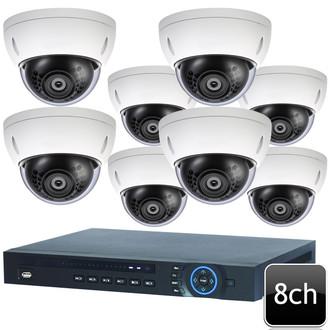 Dahua 8ch 4MP 8 DOME IP Camera System OEM-SD7