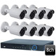 Dahua 8ch 4MP 8 BULLET IP Camera System OEM-SD7