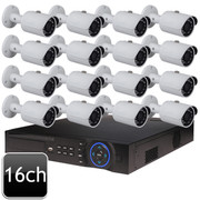Dahua 16ch 4MP Bullet 16 IP Camera System OEM-SD8