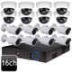 Dahua 16ch 4MP Bullet Dome Combo 16 IP Camera System OEM-SD8