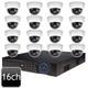 Dahua 16ch 4MP Dome 16 IP Camera System OEM-SD8