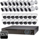 Dahua 32 channel 4MP 32 IP  Bullet Dome Combo Camera System OEM-SD9