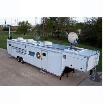 A2Z MCCT-E42 42ft Mobile Command Center Trailer