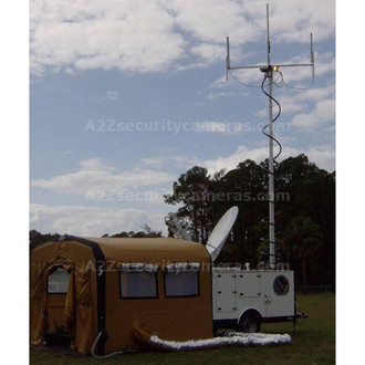 A2Z MCCT-LITE-IS Mobile Command Center Trailer Lite plus Inflatable Shelter