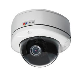 ACTi HD Megapixel Vandal Proof Dome Network Security Cameras