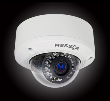 MESSOA NDR302-HN2 3-Megapixel Outdoor IR Dome IP Camera