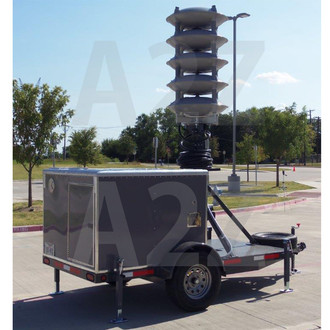 A2Z MCCT-PAA Emergency Public Address Acoustic Alert Trailer