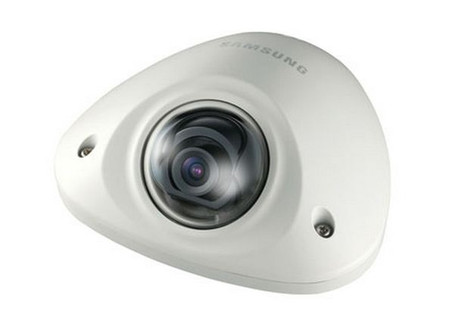 Samsung SNV-6012M Mobile 1080P HD Vandal IK10 Mini Dome IP Camera