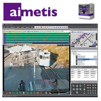 Aimetis Symphony SYM-SV-SL-E Enterprise NVR Video Analytic Software
