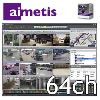 Aimetis Symphony 64 Channel Software License NVR
