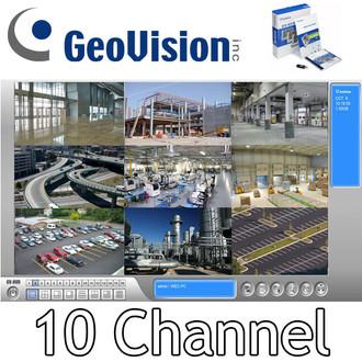 Geovision GV-NVR 10ch IP Software