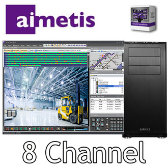 Aimetis Symphony PC NVR 8 channel