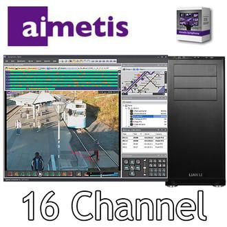 Aimetis Symphony 16 channel PC NVR