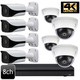 Dahua 4K 8ch Dome Bullet 8 IP Camera System OEM-SD2