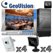 Geovision VIVOTEK 8ch Wireless IP Security Camera System GV17