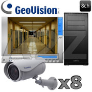 Geovision 8ch UltraBullet 3 Megapixel HD IP Camera System GV16