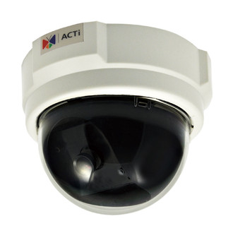 ACTi D52 3 Megapixel Color IP Dome Security Camera