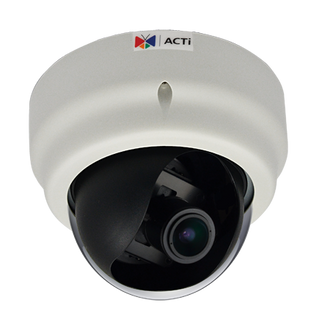 ACTi D61 720P HD Color IP Dome Security Camera
