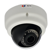 ACTi E64 1MP 720P Superior WDR IR Dome IP Security Camera