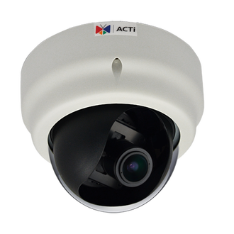 ACTi E67 1080P HD WDR Color Dome IP Camera SLLS