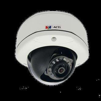 ACTi E72 3 Megapixel Vandal Proof WDR IR Dome IP Camera
