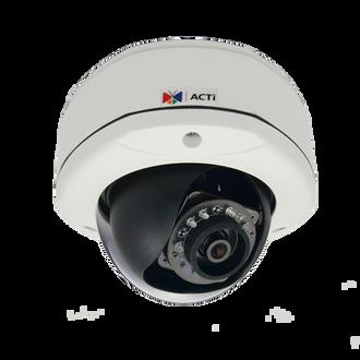 ACTi E73 5 Megapixel Vandal Proof WDR IR Dome IP Security Camera