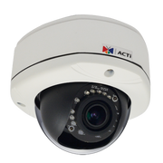 ACTi E81 1 Megapixel 720P WDR HD IR Vandal Proof Dome IP Camera
