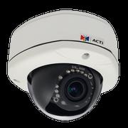 ACTi E85 720P HD Superior WDR Vandal IR Dome IP Security Camera