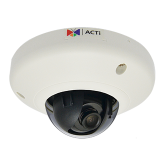 ACTi E92 3 Megapixel 1080P HD WDR Mini Dome IP Camera