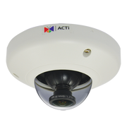 ACTi E96 5 Megapixel Fisheye 360 WDR Mini Dome IP camera