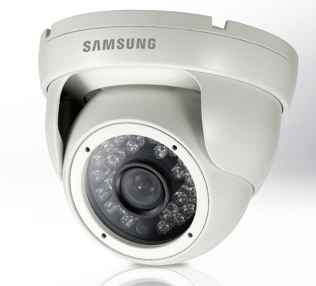samsung scd 2021r mini ir dome cctv security camera. Black Bedroom Furniture Sets. Home Design Ideas
