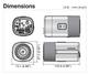 Samsung SCB-3003 dimensions