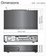 Samsung SRD-1653D DVR size