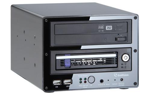 Geovision GV-LX4C3D2W GV-Compact DVR V3 4ch 1 Bay and 1 DVD