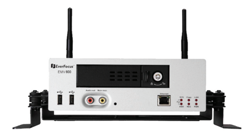 Everfocus EMV800 8 channel Linux Mobile DVR System (shown with WiFi)