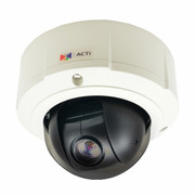 ACTi B910 4MP PTZ IP Camera Vandal Dome 10x