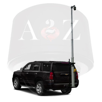 A2Z Mobile Vehicle Telescopic Mast PTZ Camera MSS-VRTMP