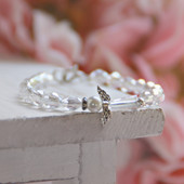 "CJ-525-6  The Sweetest Angel Ever Bracelet for Tween 6"" Top seller at Market!"