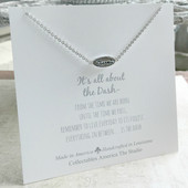 "DA-2  ""Blessed"" It's all about the Dash Necklace"