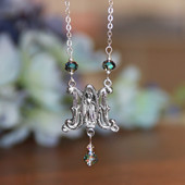 IN-562  Beautiful Mary Necklace