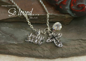 IN-410 John 3:16 Necklace