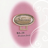 BA-24 Oval Princess Paci Holder