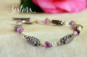IN-310  Sister Bracelet with special message