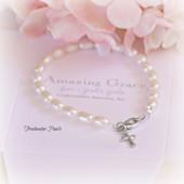 GG-16  Amazing Grace Freshwater Pearl Bracelet
