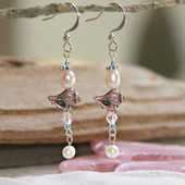 OC-38  Conch Shell Earrings