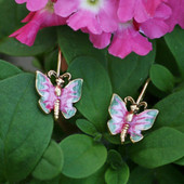 EN-15  Butterfly Earrings